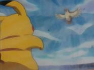EP133 Pikachu sufriendo torbellino
