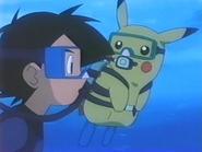 EP216 Ash y Pikachu