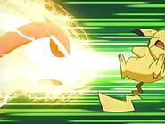 EP435 Milotic usando imagen sobre Pikachu