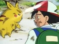EP001 Ash y Pikachu en el suelo