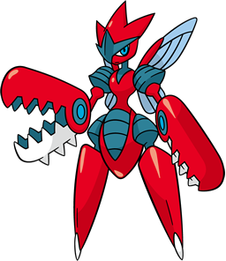 Mega-Scizor (dream world)