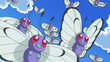 EP792 Bandada de Butterfree