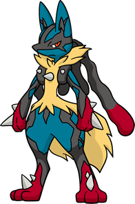 Mega-Lucario (dream world)