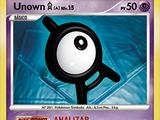 Unown A (Diamante & Perla TCG)