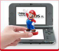 Disponibilidad de amiibo con New Nintendo 3DS