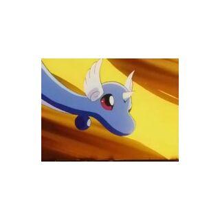 Dragonair en la batalla contra <a href=