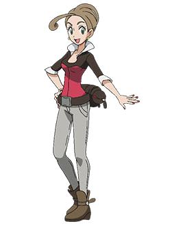 <i>Ilustración de Alexia en el Anime</i>