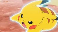 EP1058 Pikachu usando Ataque rápido
