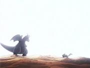 EP114 Dragonite de Drake vs Pikachu de Ash