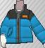 Anorak azul claro