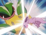 EP228 Espeon de sakura usando ataque rápido