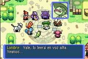 Plaza Pokémon Tras tu huida