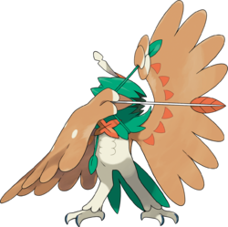 Artwork de Decidueye