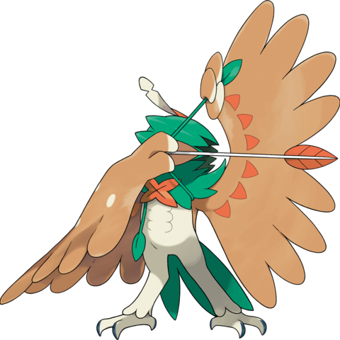 Artwork de Decidueye.