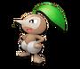 Nuzleaf Pokémon Mundo Megamisterioso