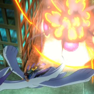 ...causando una explosión, pero estos son salvados por <a href=