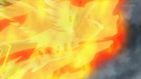 EP913 Talonflame de Ash usando nitrocarga