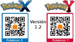 Parche versión 1.2 XY