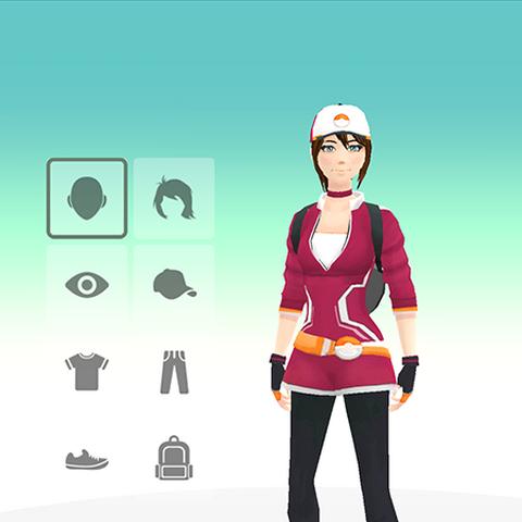Personalización del avatar (mujer).