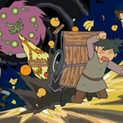 Spiritomb destruía la fruta que la gente del pueblo recolectaba...
