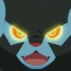 Cuando Luxray usa su habilidad especial, sus ojos se iluminan de un amarillo más intenso y brillante.