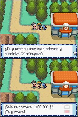 Vendiendo una cola Slowpoke