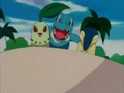 EP169 Pokemon arriba de Snorlax