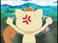 EP552 Meowth criticando a Jessie y James