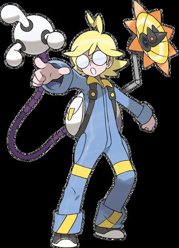 <i>Ilustración de Lem en Pokémon X y Pokémon Y</i>