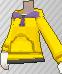 Sudadera con capucha amarillo