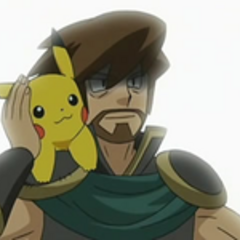 Después de todo lo sucedido, la anciana ve a Ash como el Guardián del Aura.