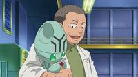 EP693 Profesor Imori junto a Elgyem