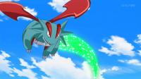 EP931 Salamence usando cola dragón