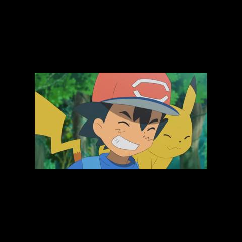 Pikachu sin mejillas rojas.