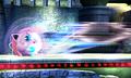 Jigglypuff usando desenrollar furioso SSB4 3DS