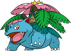 Mega-Venusaur (dream world)