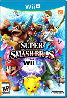Carátula SSB Wii U