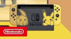 EEPP Nintendo Switch edición Pikachu e Eevee - Tráiler