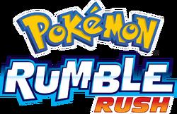 Logo de Pokémon Rumble Rush