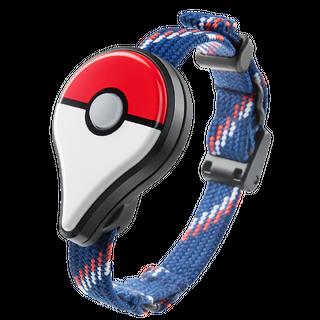 Pokémon GO Plus con pulsera.