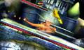 Charizard usando carga dragón SSB4 3DS
