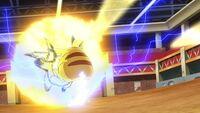 EP1107 Cola férrea Pikachu y Placaje eléctrico Raichu