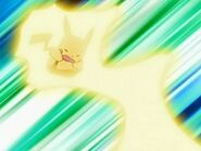EP552 Pikachu usando impactrueno
