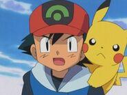 EP296 Ash y Pikachu