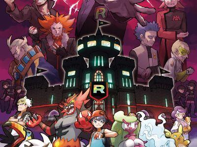 Póster Promocional Team Rainbow Rocket