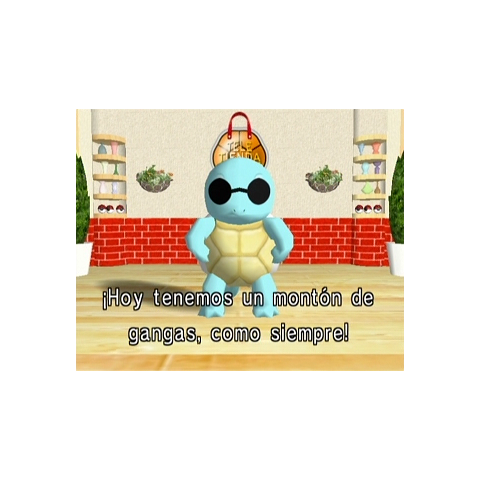 Squirtle en Pokémon Channel.