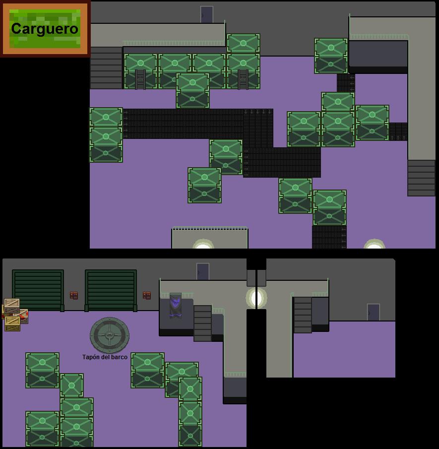 Plano de Carguero (3 primeras salas al principio)