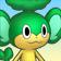 Cara de Pansage 3DS