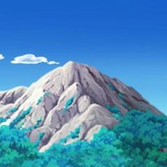 Montaña de la isla.