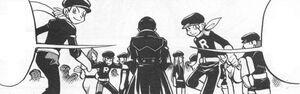 Giovanni y el Team Rocket